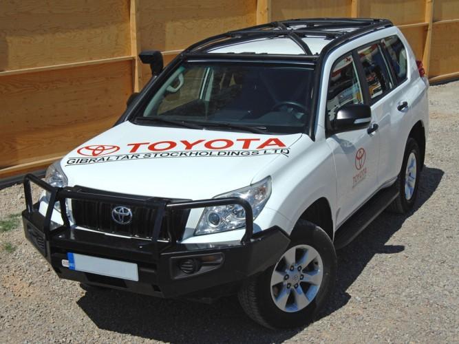 Safety Devices 187 New Development Toyota Land Cruiser