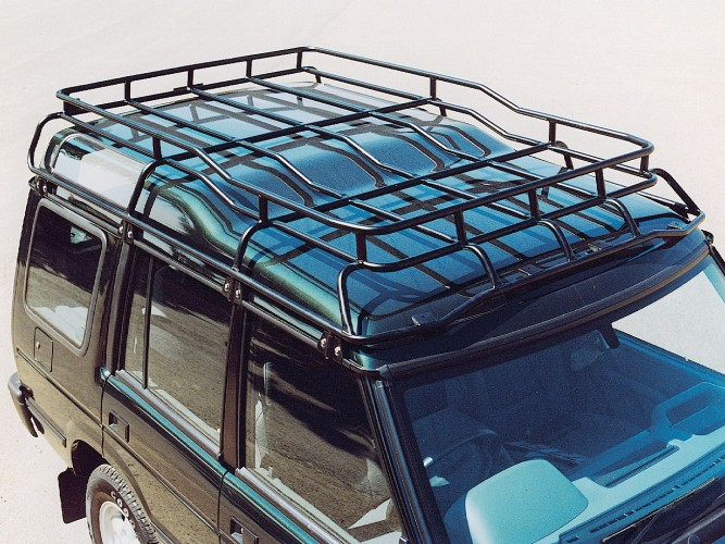 Removing Roof Racks From Discovery 1 Landrover