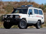Toyota Ambulance roll over protection