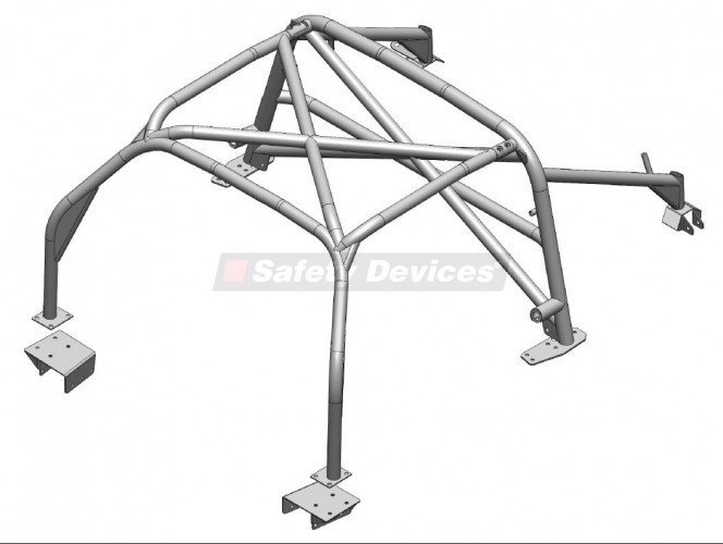 6 Point Bolt-in Roll Cage | Safety Devices – Experts In