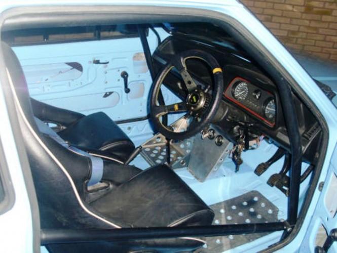 Ford Fiesta Mk2 Hatchback 6 Point Bolt In Roll Cage