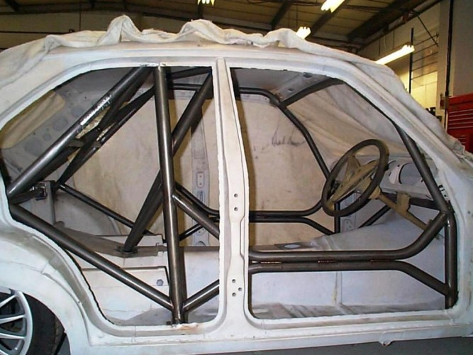 Ford Escort Mk1 Weld In Roll Cage Safety Devices