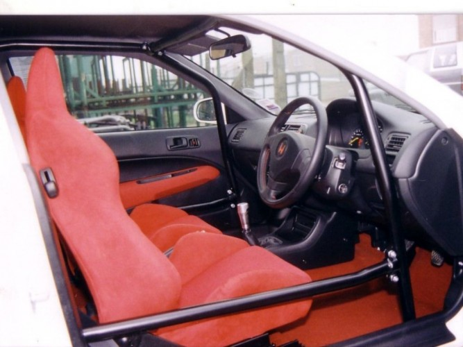 Honda Civic Type R Ek9 6 Point Bolt In Roll Cage Safety