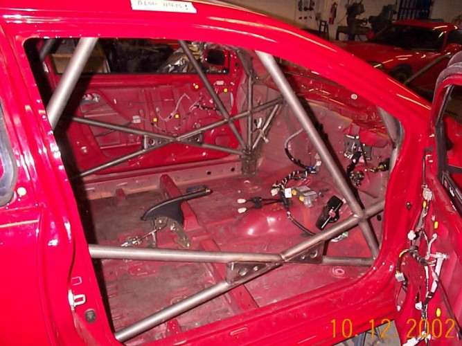 Honda Civic Ep3 Hatchback Weld In Roll Cage Safety