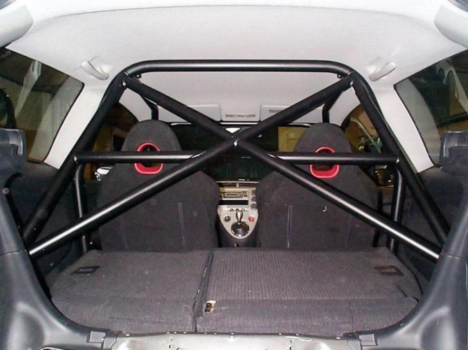 Honda Civic Ep3 6 Point Bolt In Roll Cage Safety Devices