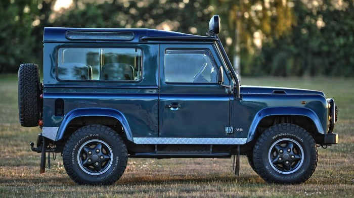 Land Rover Defender 110 300Tdi Station Wagon 4 Point Bolt-in