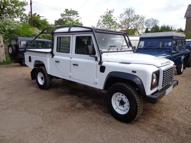 Land Rover Defender 130 Puma Double Cab High Capacity Pick Up Multi