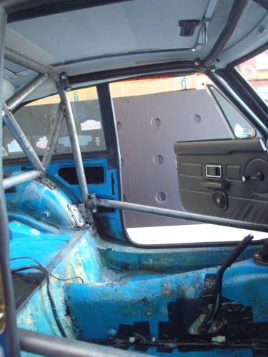 Mg Mgb Gt No Sunroof 6 Point Bolt In Roll Cage Safety