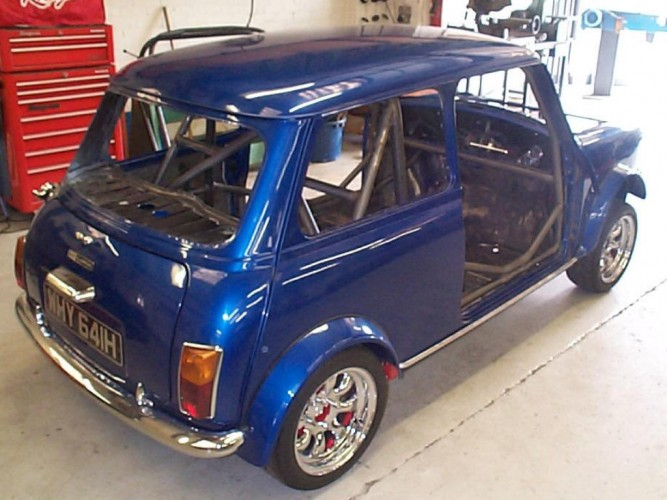Rover Classic Mini Weld In Roll Cage Safety Devices