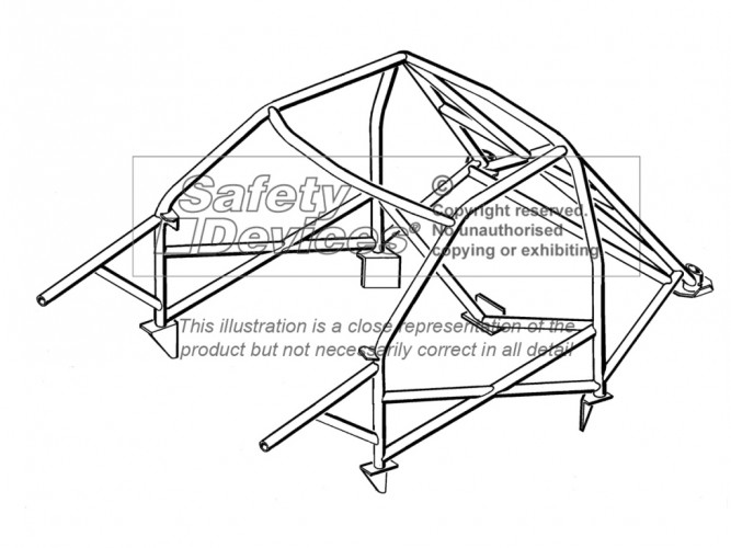 vauxhall opel corsa a hatchback weld in roll cage safety devices Opel Corsa 2012 vauxhall opel corsa a hatchback weld in roll cage