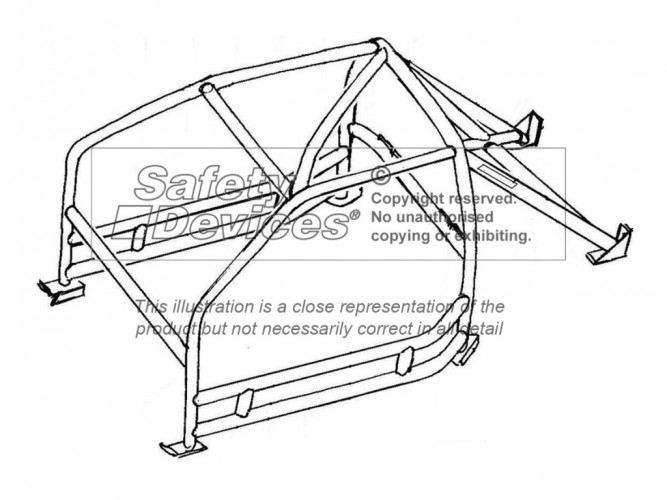 porsche 911 classic  scca spec for usa weld in roll cage
