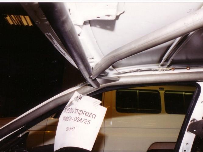 Subaru Impreza Gc8 1st Generation Weld In Roll Cage