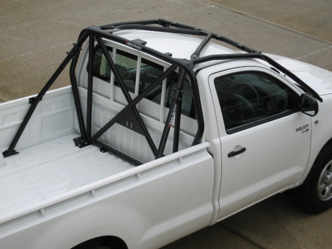 Toyota Hilux Kun25 Vigo Single Cab Pick Up Multi Point Bolt In Roll Cage Safety Devices