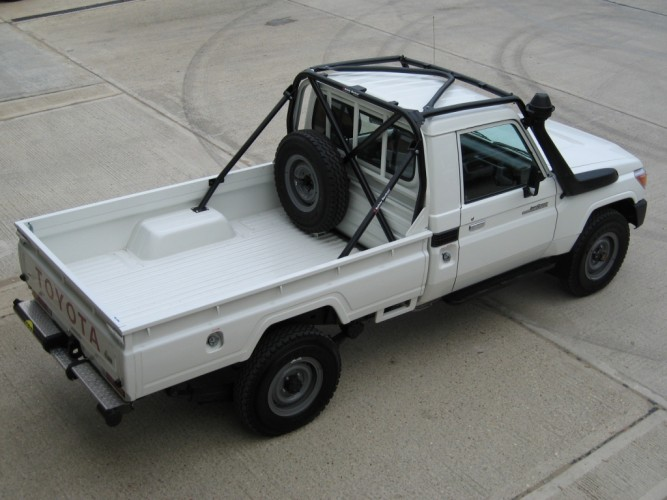 Toyota Land Cruiser Hzj 79 Single Cab Pick