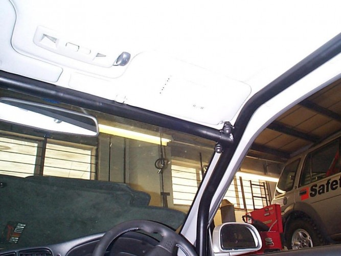 Mitsubishi Lancer Evo 5 6 Point Bolt In Roll Cage Safety