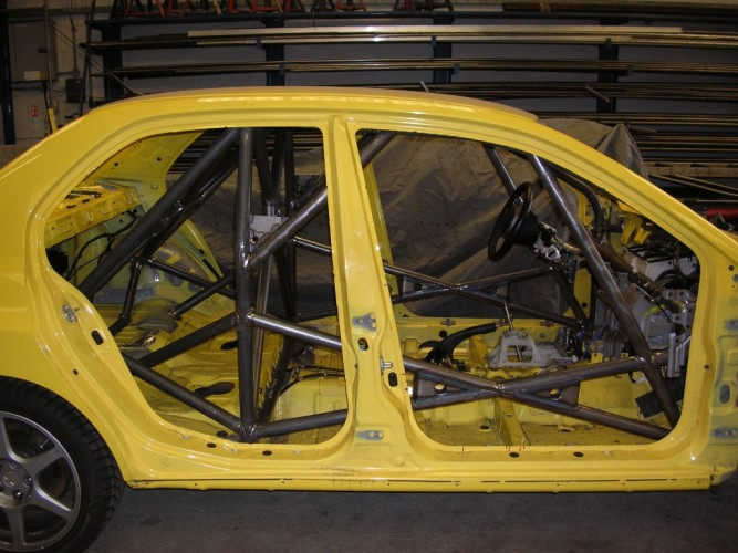 Mitsubishi Lancer Evo 8 Weld In Roll Cage Safety Devices