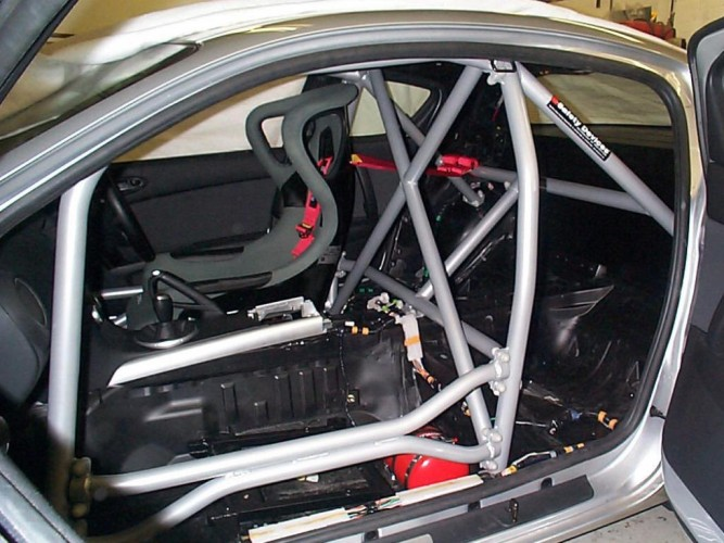 Mazda Rx8 Se3p 6 Point Bolt In Roll Cage Safety Devices