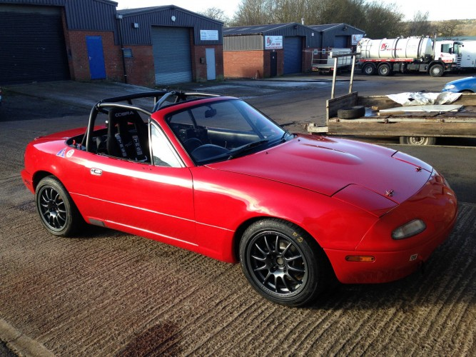 Mazda Mx5 Mk1 Na 6 Point Bolt In Roll Cage Safety