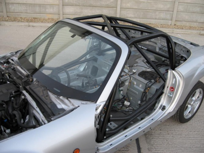 Mazda Mx5 Mk3 Nc 6 Point Bolt In Roll Cage Safety
