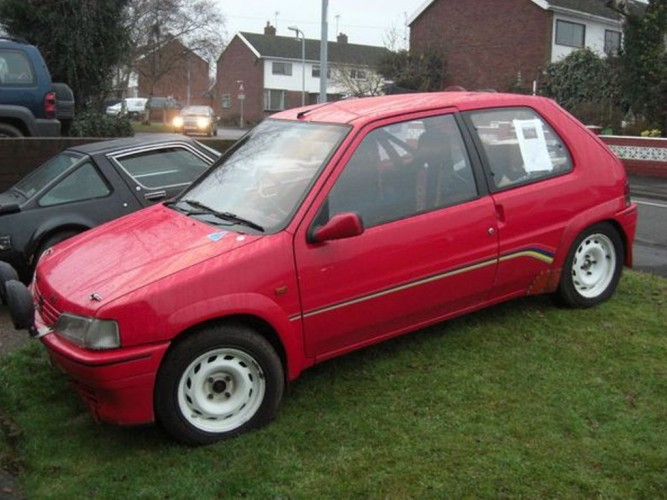 Peugeot 106 6 point bolt in roll cage safety devices for 106 door