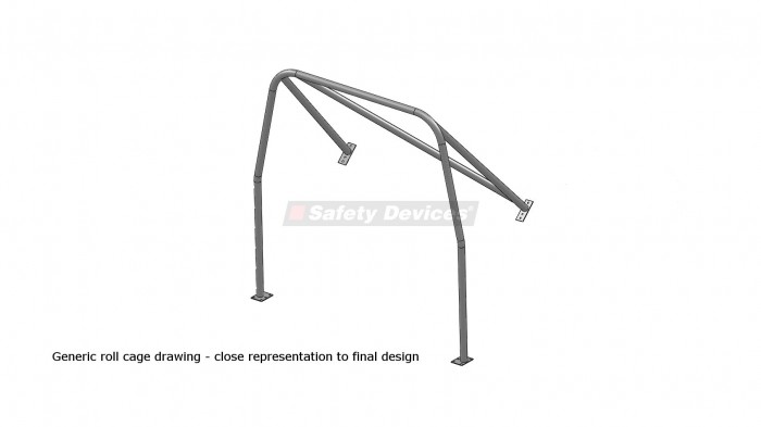 Ginetta G15 6 Point Bolt In Roll Cage Safety Devices