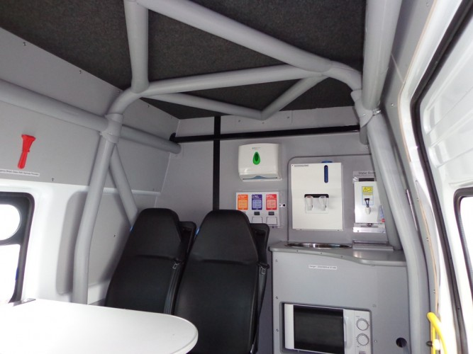 Ford Transit High Roof Long Wheel Base Welfare Unit Or