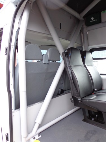 Ford Transit Van >> Ford Transit High Roof, Long Wheel Base Welfare Unit Or Van Multi Point Bolt-in Roll Cage ...