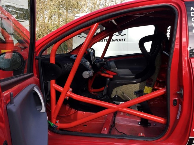 Citroen C1 6 Point Bolt In Roll Cage Safety Devices