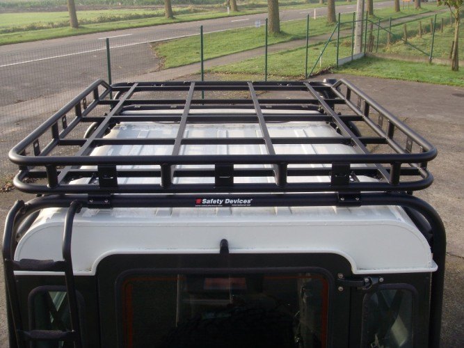 Land Rover Roof Rack Roll Cage Mount Safety Devices