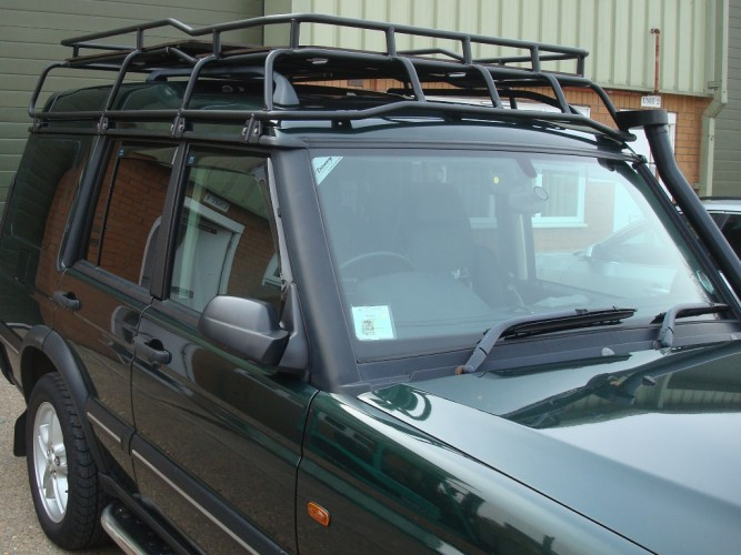 Land Rover Discovery 2 With Roof Rails Roof Rack Gutter