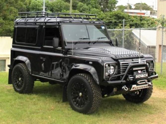 Land Rover Defender 90 Station Wagon Roof Rack Gutter