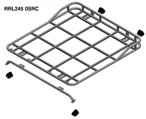 Defender 110 Crew Double Cab Pick Up Roof Rack Roll Cage