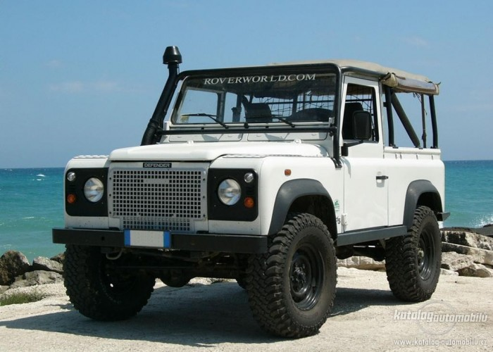 Land Rover Defender 90 Soft Top Multi Point Bolt In Roll