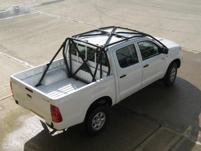 Toyota hilux kun25 vigo crew double cab pick up multi - Interior roll cage for toyota pickup ...