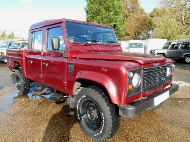 Land Rover Defender 130 Td5 Double Cab High Capacity Pick
