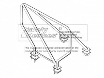 Land Rover Defender 110 Hard Top Weld In Roll Cage