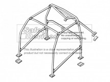 MG ZR 6 Point Bolt-in Roll Cage   Safety Devices
