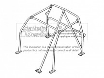 Toyota MR2 Mk1 AW11 (1984-1989) 4 Point Bolt-in Roll Cage