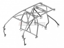 Toyota Land Cruiser 200 Station Wagon Multi Point Bolt-in Roll Cage