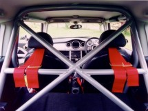 BMW Mini R50/53 Hatchback 6 Point Bolt-in Roll Cage