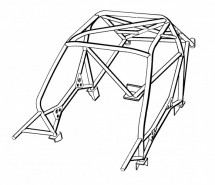 Peugeot 106 Weld In Roll Cage | Safety Devices