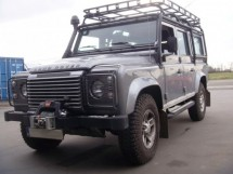 Land Rover Roof Rack Roll Cage Mount