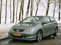 Honda Civic EP3 Hatchback Multi Point Bolt-in Roll Cage