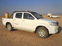 Toyota Hilux KUN25 (Vigo) Crew/Double Cab Pick-Up Multi Point Bolt-in Roll Cage
