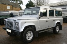 Land Rover Defender 110 Puma Hard Top Multi Point Bolt-in Roll Cage