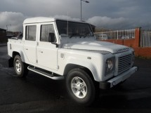 Land Rover Defender 110 Puma Double Cab Pickup Multi Point Bolt-in Roll Cage