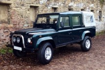 Land Rover Defender 110 200Tdi Double Cab Pickup Multi Point Bolt-in Roll Cage