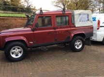 Land Rover Defender 110 Td5 Double Cab Pickup Style Bar
