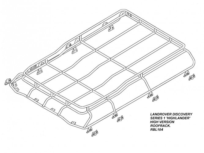 Discovery Roof Rack Dimensions Racks Blog Ideas