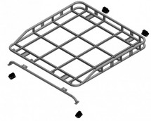 Defender 110 Crew/Double Cab Pick-up Roof Rack Roll Cage